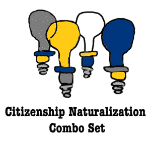 Citizenship Naturalization Combo Set
