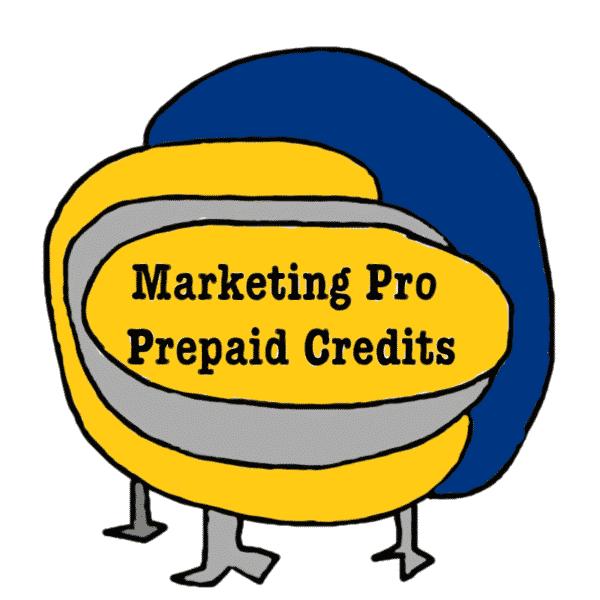 Marketing Pro Prepaid Credits