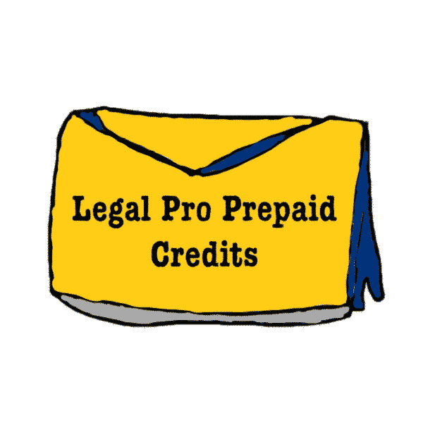 Legal Pro prepaid Credits