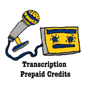 Transcription Prepaid Credits