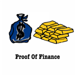 Proof of finance